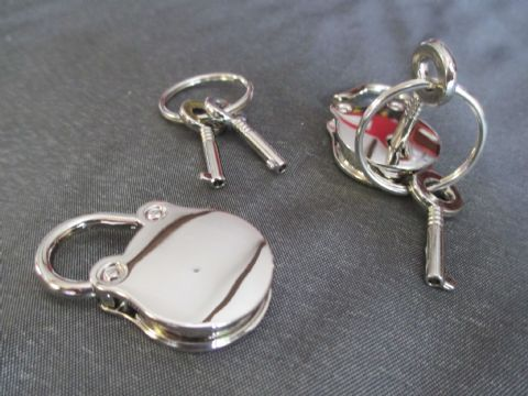 Pair of Padlocks and Keys